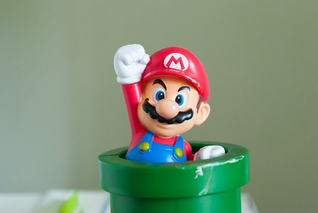 Super Mario from video games