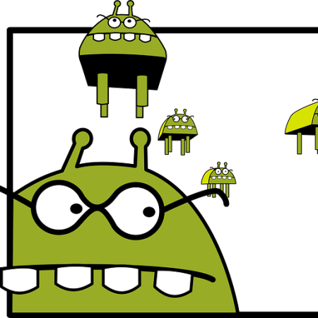 An invasion of flying monsters