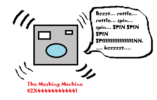 The Moshing Machine is a rocking version of the washing machine