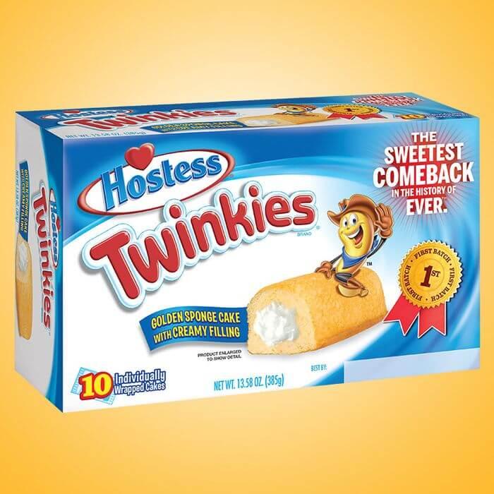 A box of Twinkies.