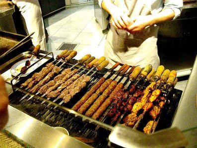 Kebabs galore!