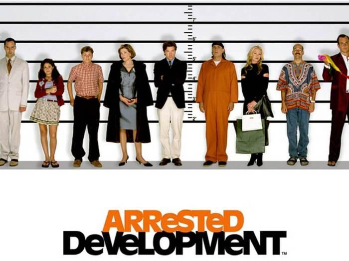 Arrested Development's assembled cast