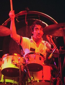 Keith Moon was not available to play at the London Olympics.