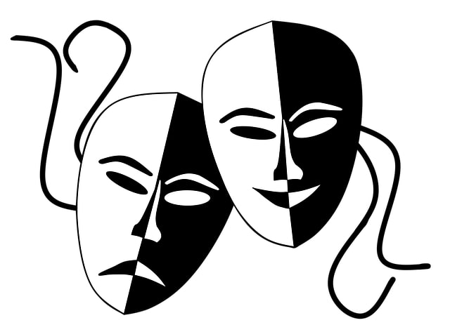 Theatre masks for acting in things like soap operas