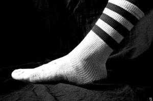 A normal, boring sock.