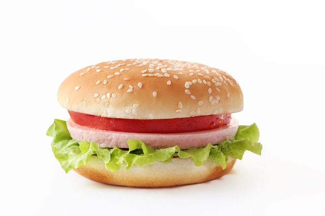 Ham and Jam sandwich