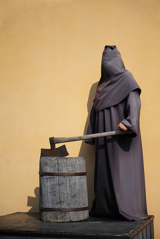 The executioner, Peter & Paul Fortress, St.-Petersburg, Russia.