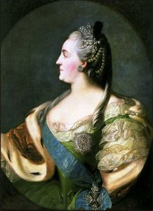 Catherine II the Great isn't available, fellas, but she is a fine example of a woman YOU could date TODAY!