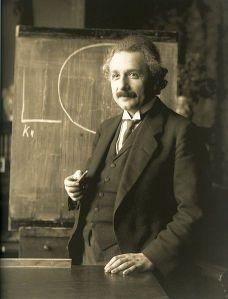 """Einstein; """"O'reet?"""""""