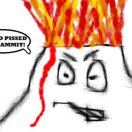 Angry Volcano