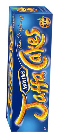 Jaffa Cakes are known to be shy and will often hide in their packaging.