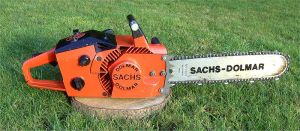 The ever amiable looking chainsaw.