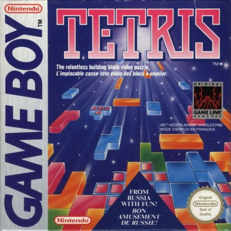 Tetris on the Game Boy