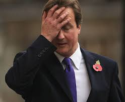 The Prime Minister of England reacts in horror to our findings.