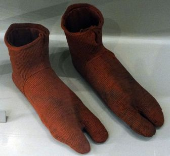 Socks from ancient times, when humans had weird feet.