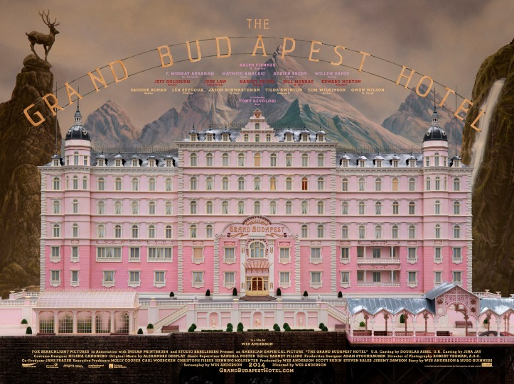 Grand Budapest Hotel by Wes Anderson