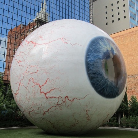 Enormous eyeball