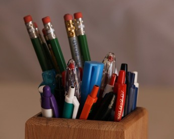 PENS! PENCILS! THEY'RE EVERYWHERE!