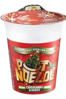 A Christmas Dinner Pot Noodle!