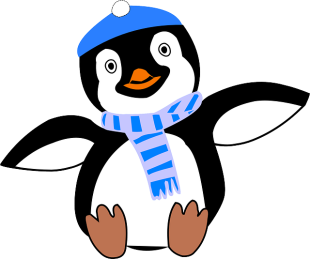 It's believed penguins survive in their freezing wilderness by wearing a variety of stylish scarves.