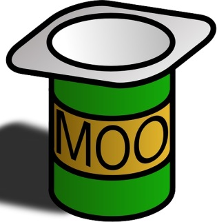 Yoghurt? No never! It's a Moo Pot!
