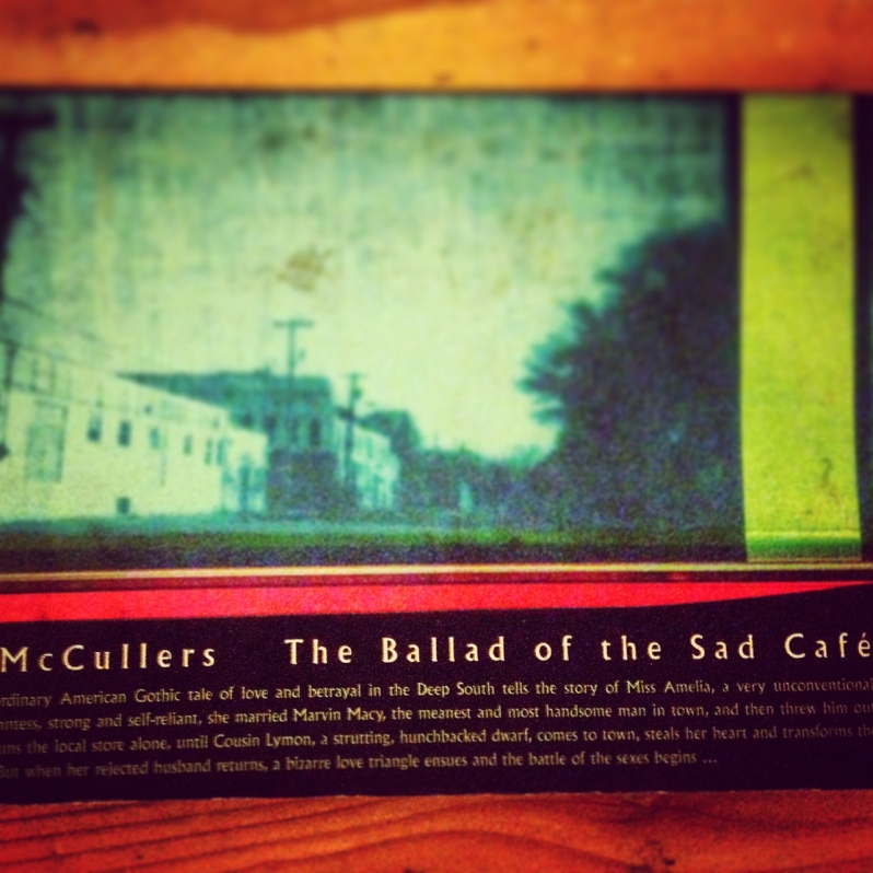 Carson McCullers The Ballad of the Sad Cafe