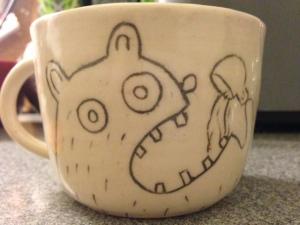 A proper tea mug