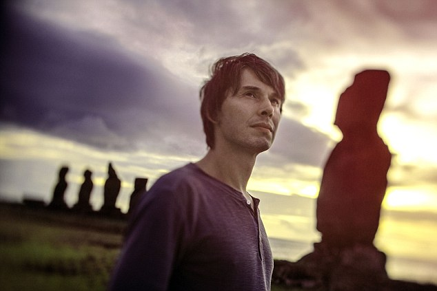 Prof Brian Cox and his hair
