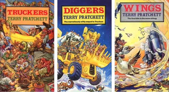 Nome Trilogy by Terry Pratchett