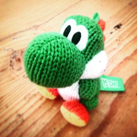 Woolly Yoshi amiibo Wii U