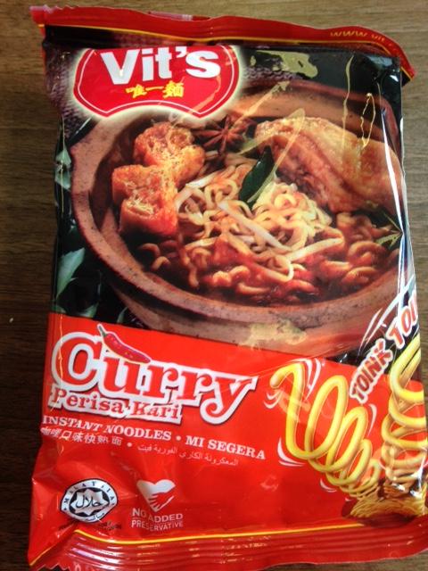 Vit's Curry Noodles