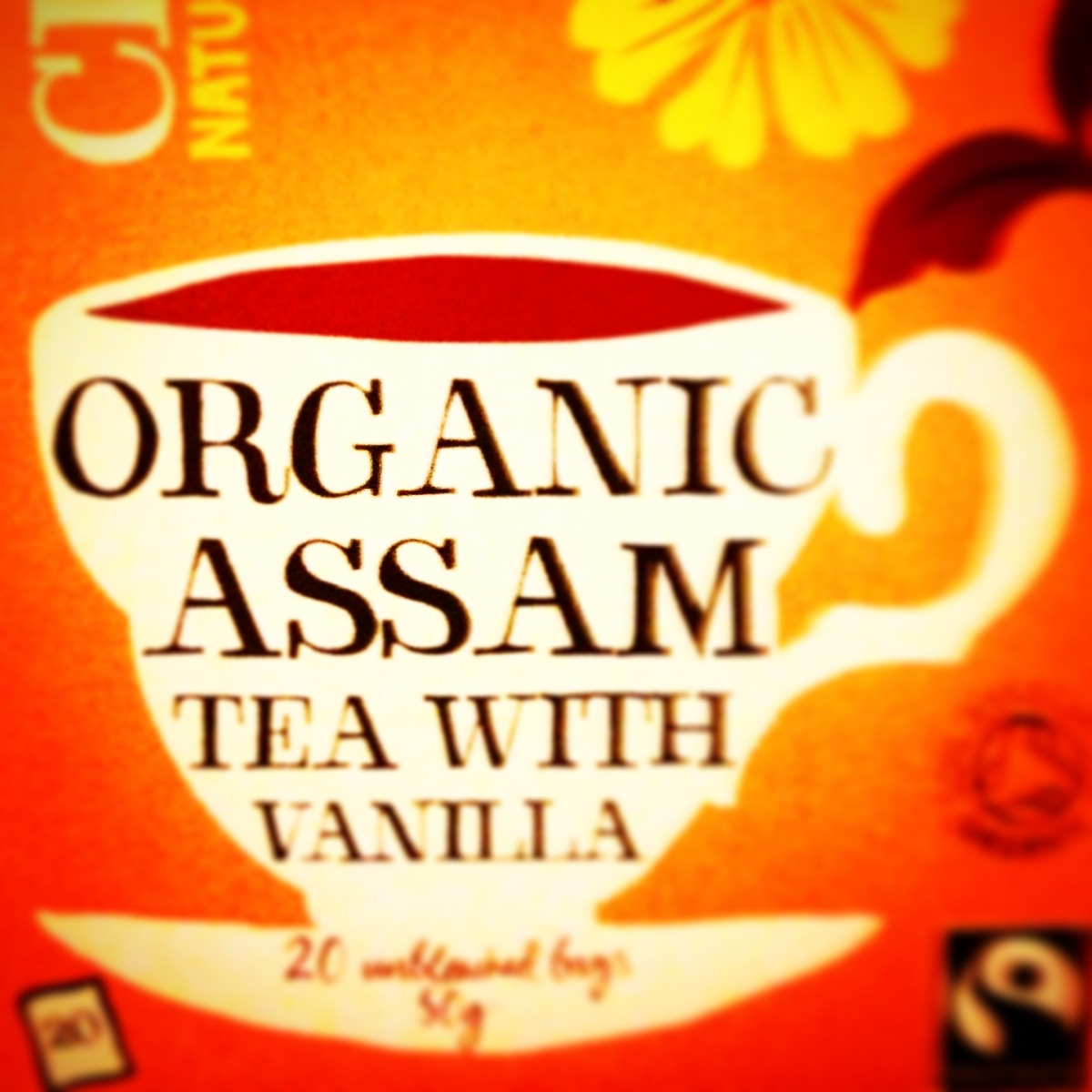 In Praise of Clipper's Assam Tea with Vanilla (it's bloody good)!