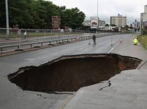 Manchester Sinkhole