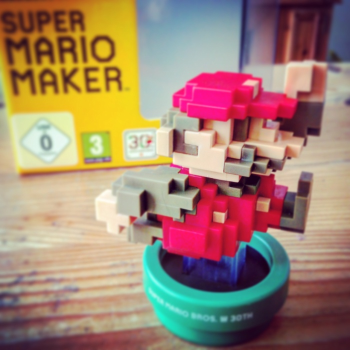 NES Super Mario Maker Amiibo