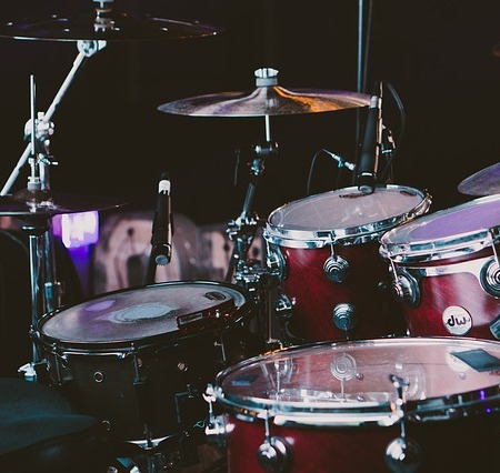 Drum kits - excellent for a big drum solo