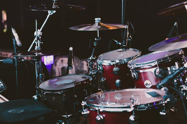 Drum kits - excellent for a big drum solo