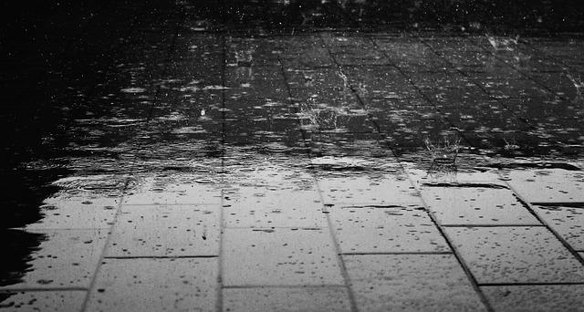 Manchester summer rain