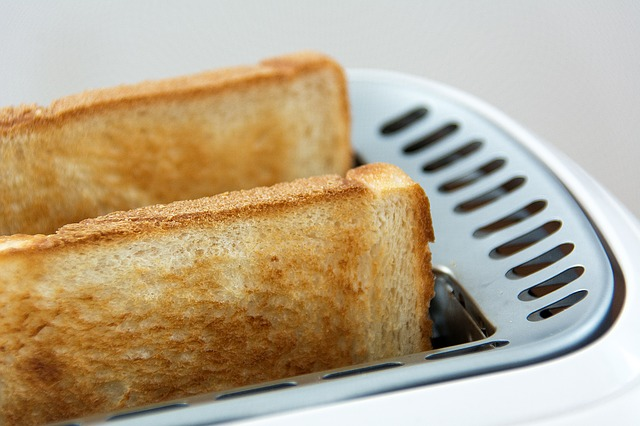 Toast and bread sandwich