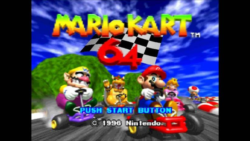 mario kart 64 the flawed classic hits the wii u with gusto professional moron. Black Bedroom Furniture Sets. Home Design Ideas
