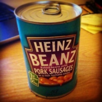 Heinz Beanz with Pork Sausages: Add Some Badness Into Your Life
