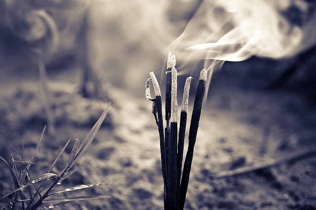 Incense sticks food