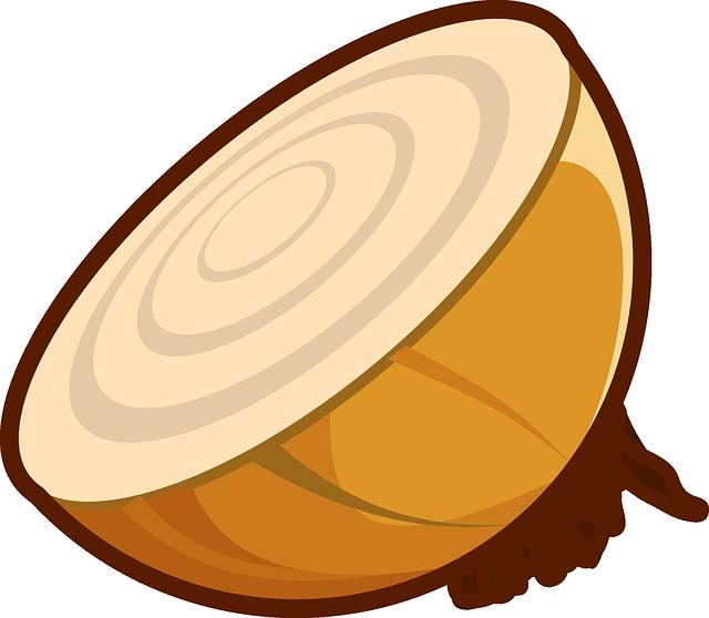 Onion ice cream