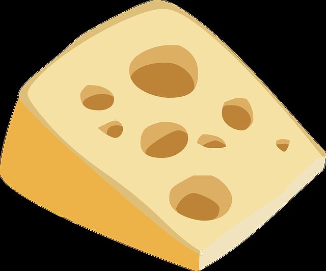 Cheese on roast