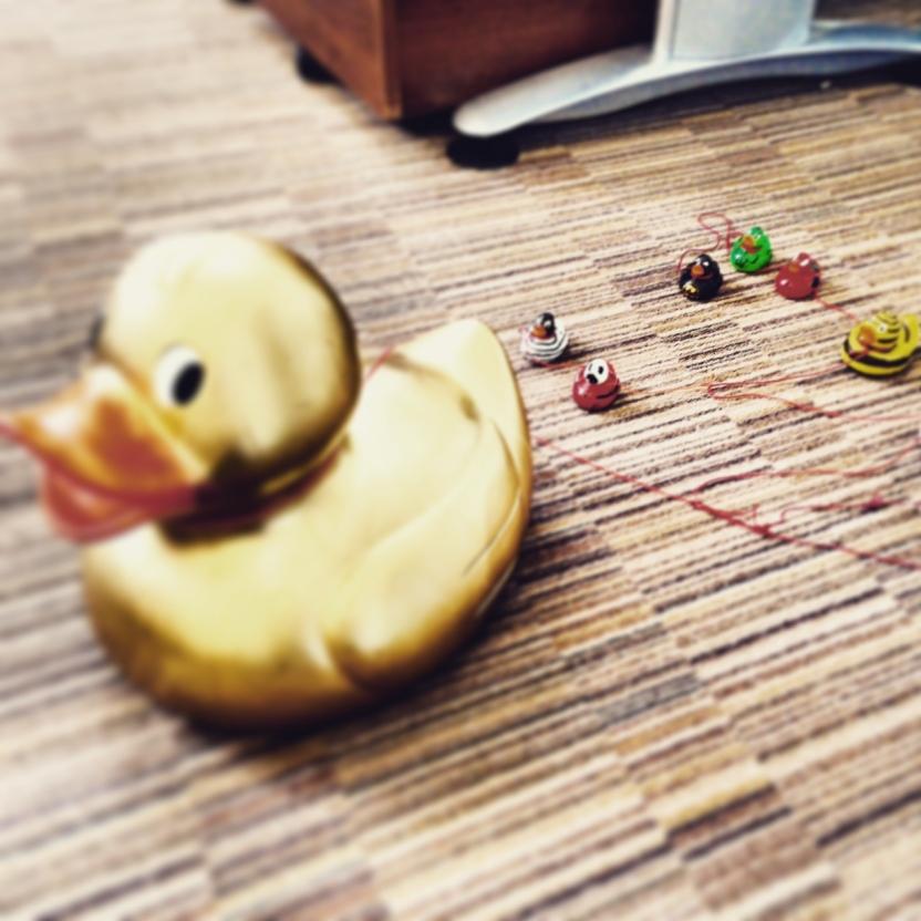 Manchester duck race corporate duck