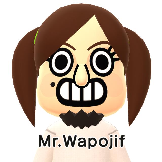 Miitomo Mr. Wapojif