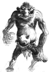 Dungeon Keeper Orc