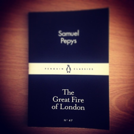 The Great Fire of London - Samuel Pepys