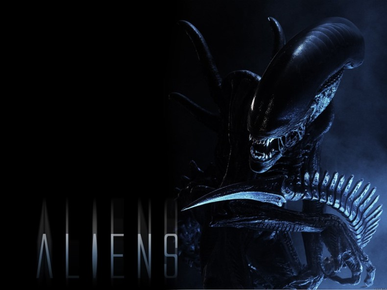 Aliens - Get away from her, you bitch!