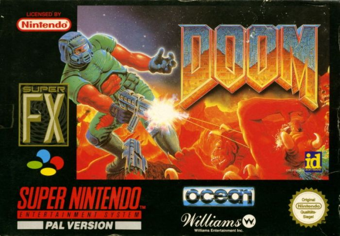 Doom on the Super Nintendo