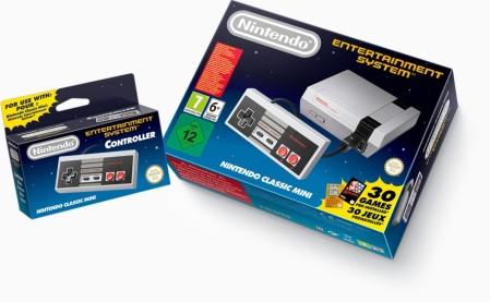 Nintendo Classic Mini controller
